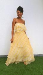 Ashma in vintage dress
