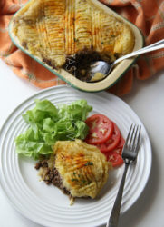 Cassava-topped Shepherd's Pie (Photo by Cynthia Nelson)