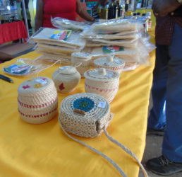 Some of the craft items made by members of the association