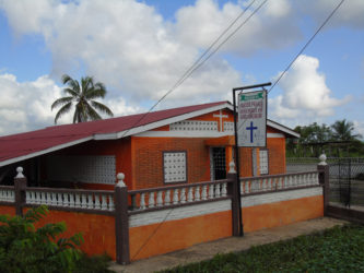 The Prayer Palace Assembly of God Church which was burglarized