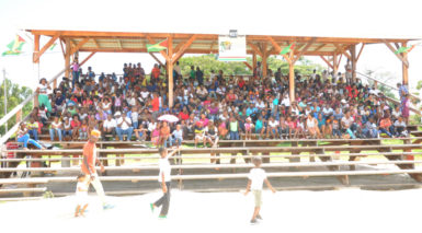 Hundreds of students filled the stands at D'urban Park during last Friday's NSC Summer Camp closing ceremony.