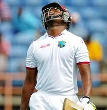 Left-hander Darren Bravo … averaged a meagre 19 during the series against India.