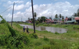 Villagers heading off to catch fish