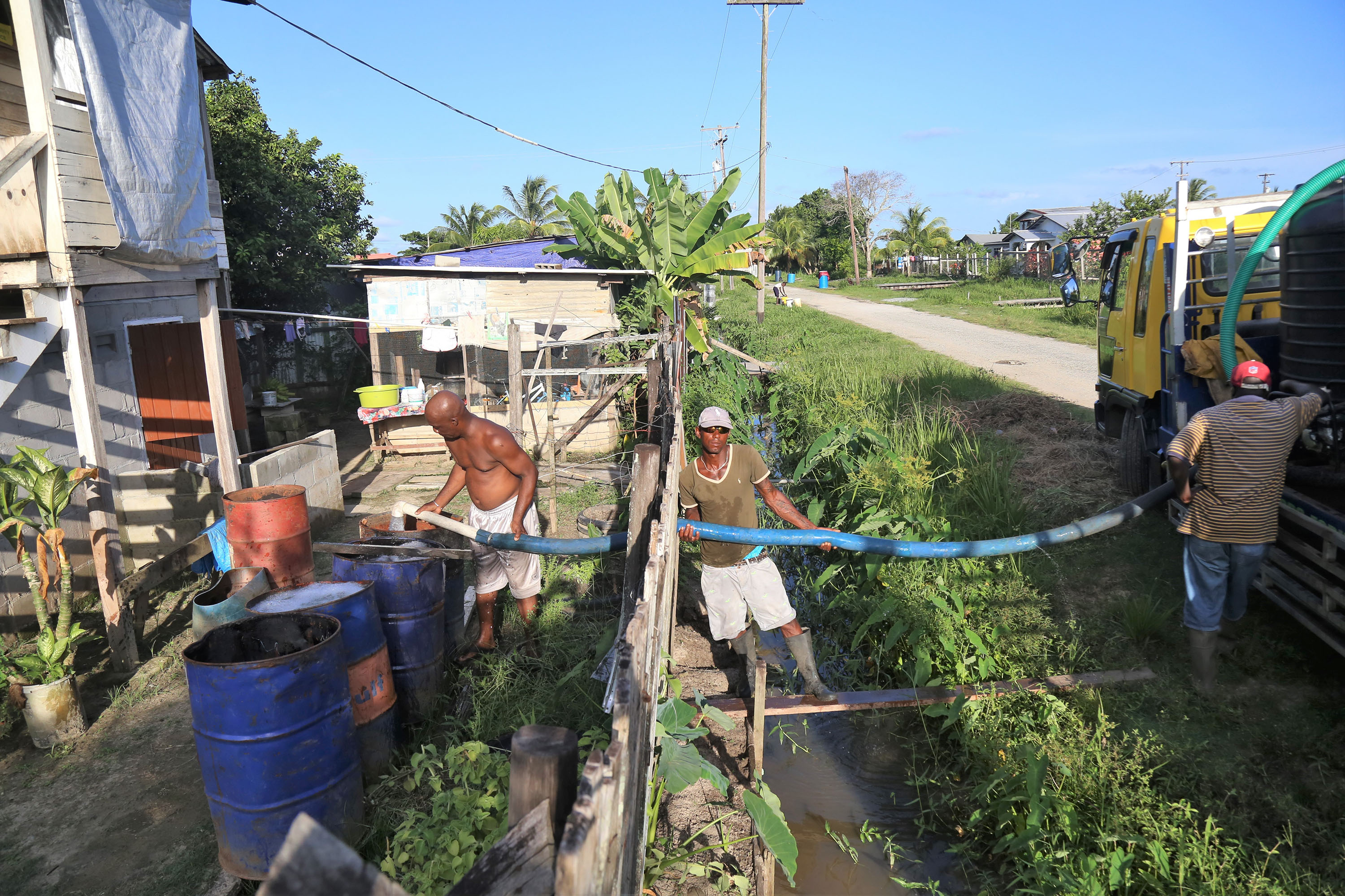 E' Field, Sophia residents lament poor water supply - Stabroek News