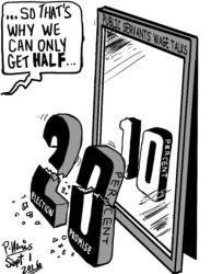 20160901Stabroek News Cartoon Sept 1 2016