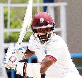 West Indies batsman  Rajendra Chandrika