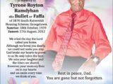 Tyrone Ramdyhan aka Bullet or Faffa