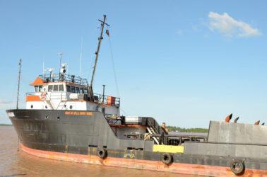 Gaico's oil spill vessel