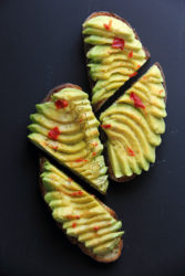 Avocado Bruschetta Photo by Cynthia Nelson