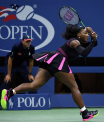 Serena Williams last evening had to dig deep before emerging with a hard-fought three-set win over Simona Halep in their U.S. Open quarter final clash.