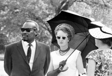 Seretse and Ruth Khama