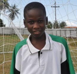 Victoria Kings' goalscorer Jeremiah Bowman