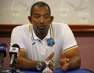 West Indies coach Phil Simmons