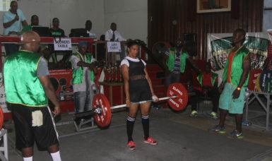 Nadina Taharally dead lifting yesterday.