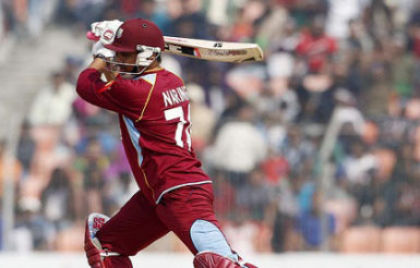 Sunil Narine top scored for the West Indies