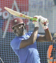 UNDER PRESSURE: New captain Carlos Brathwaite is yet to come good in the series.