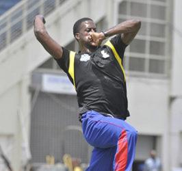 Unknown fast bowler Reynard Leveridge.