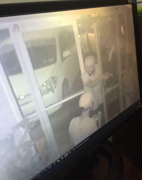 Images of the bandits in the Sleep-In robbery