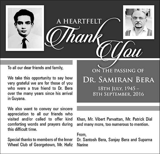 Dr. Samiran Bera