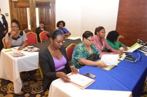 A section of the stakeholders attending the International Labour Organisation consultation (GINA photo)
