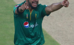 Imad Wasim wrecked the West Indies with 5 for 14
