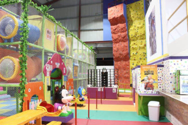 A glimpse inside the play park which is located at the Giftland Mall complex at Lilendaal and is now open to the general public.