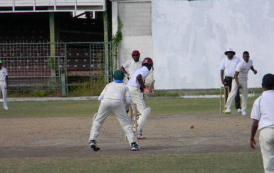 Rashidi Benjamin took 3-5 for East Ruimveldt against North Ruimveldt in the NSSCL.
