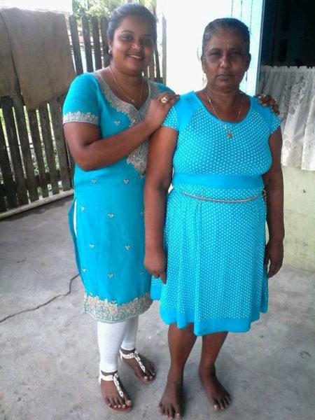 Diana Sawh (left) and Madojri Sawh