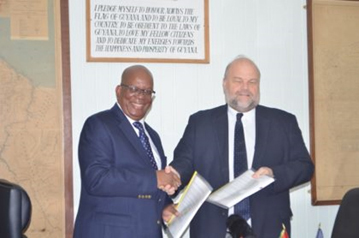 Guyana inks pact for reporting to IRS on holdings of US