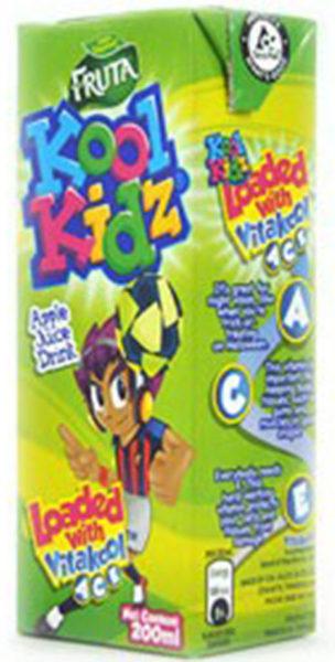 Fruta Kool Kidz juice drink