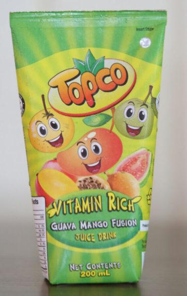 Topco juice drink
