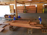 Plyboard-making operations at Barama