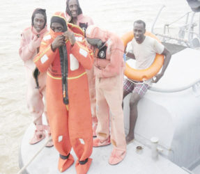 Training at sea
