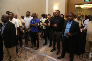 A section of the audience at last evening's launch of the African Business Roundtable.