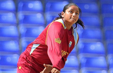 Off-spinner Anisa Mohammed … picked up three wickets.