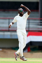 Left-arm spinner Nikita Miller … picked up his 24th first class five-wicket haul to fire Scorpions to victory. (file photo)