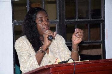 Junior Communities Minister Valerie Patterson
