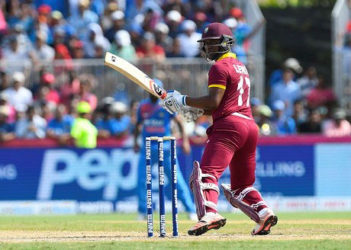 Evin Lewis has become the leading scorer in the current Tri-Nations Series.