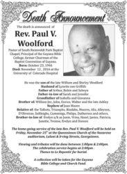 Rev Paul Woolford