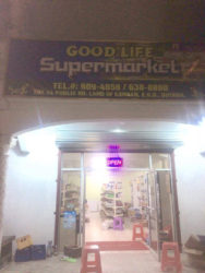 The Good Life Supermarket that was robbed on Saturday