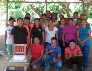 Participants in a Small Business Bureau awareness and training session in Region Nine.