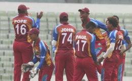 West Indies Under-19s … captured the ICC Youth World Cup in Bangladesh earlier this year.