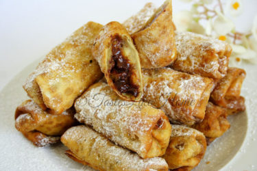 Sweet Spring Rolls Photo by Cynthia Nelson