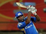 Kieron Pollard … struck an unbeaten 31 to see Cape Cobras to victory.