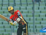 Batsman Marlon Samuels … was among the runs again for Comilla Victorians