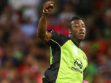Sydney Thunder are anxiously awaiting Andre Russell's fate ahead of the new Big Bash season.