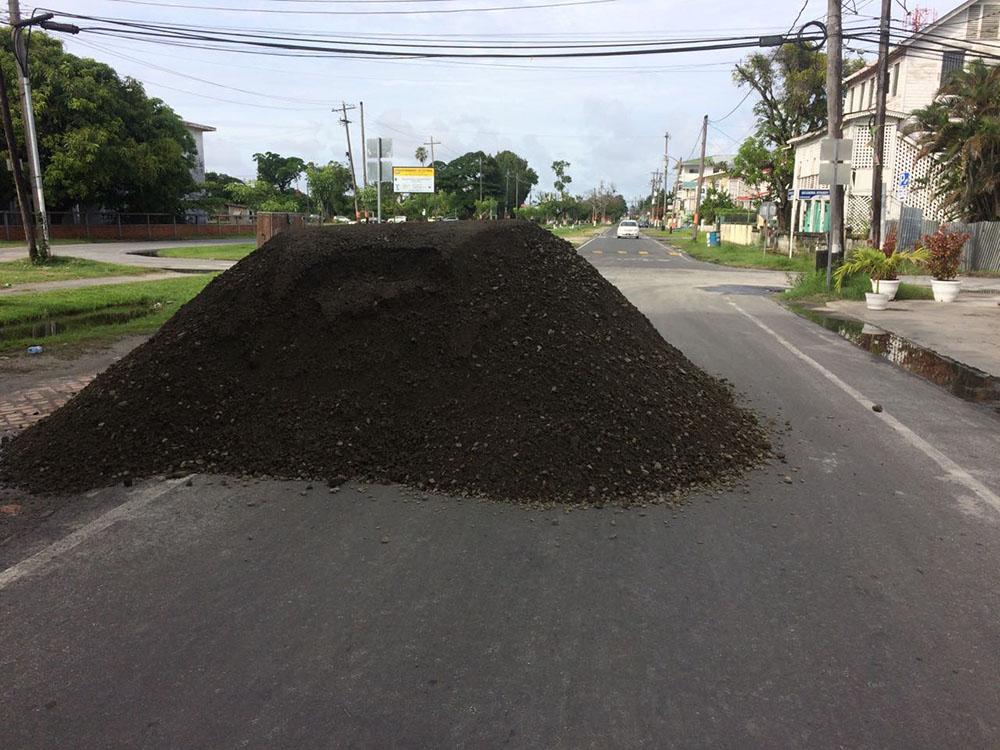 Road Construction Materials : Unconscionable stabroek news