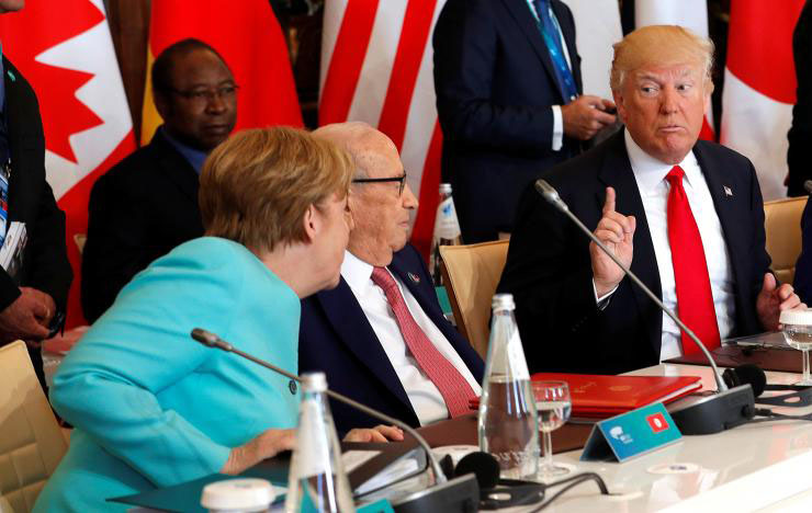 'Atlanticist' Merkel rams home frustration with Trump after summits