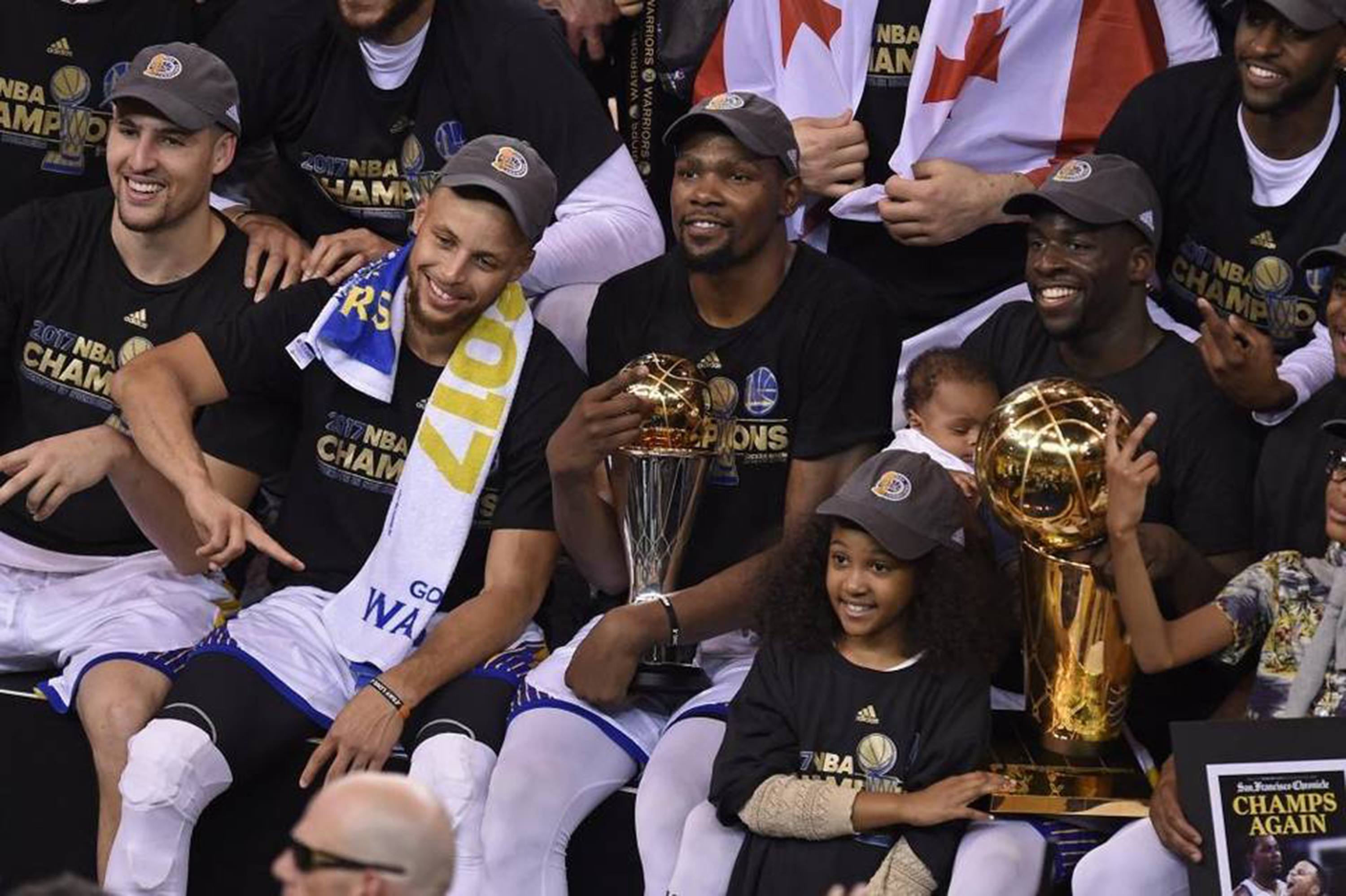 Parade for Warriors on Thursday. Will NBA champs visit White House?