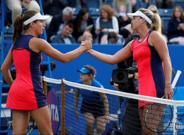 Giorgi upsets Svitolina at Birmingham